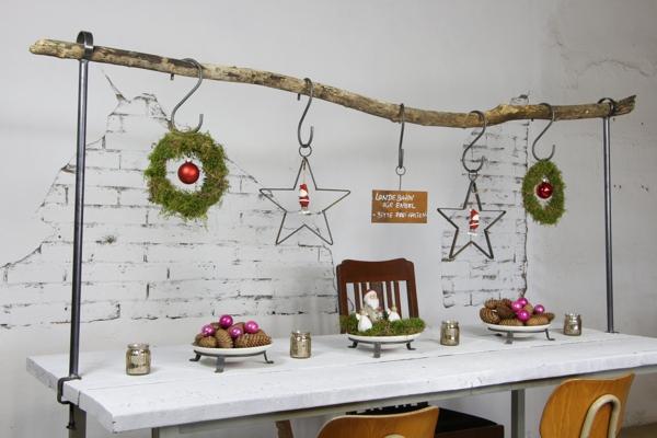 Advent - Tischtraverse für Drinnen und Draussen