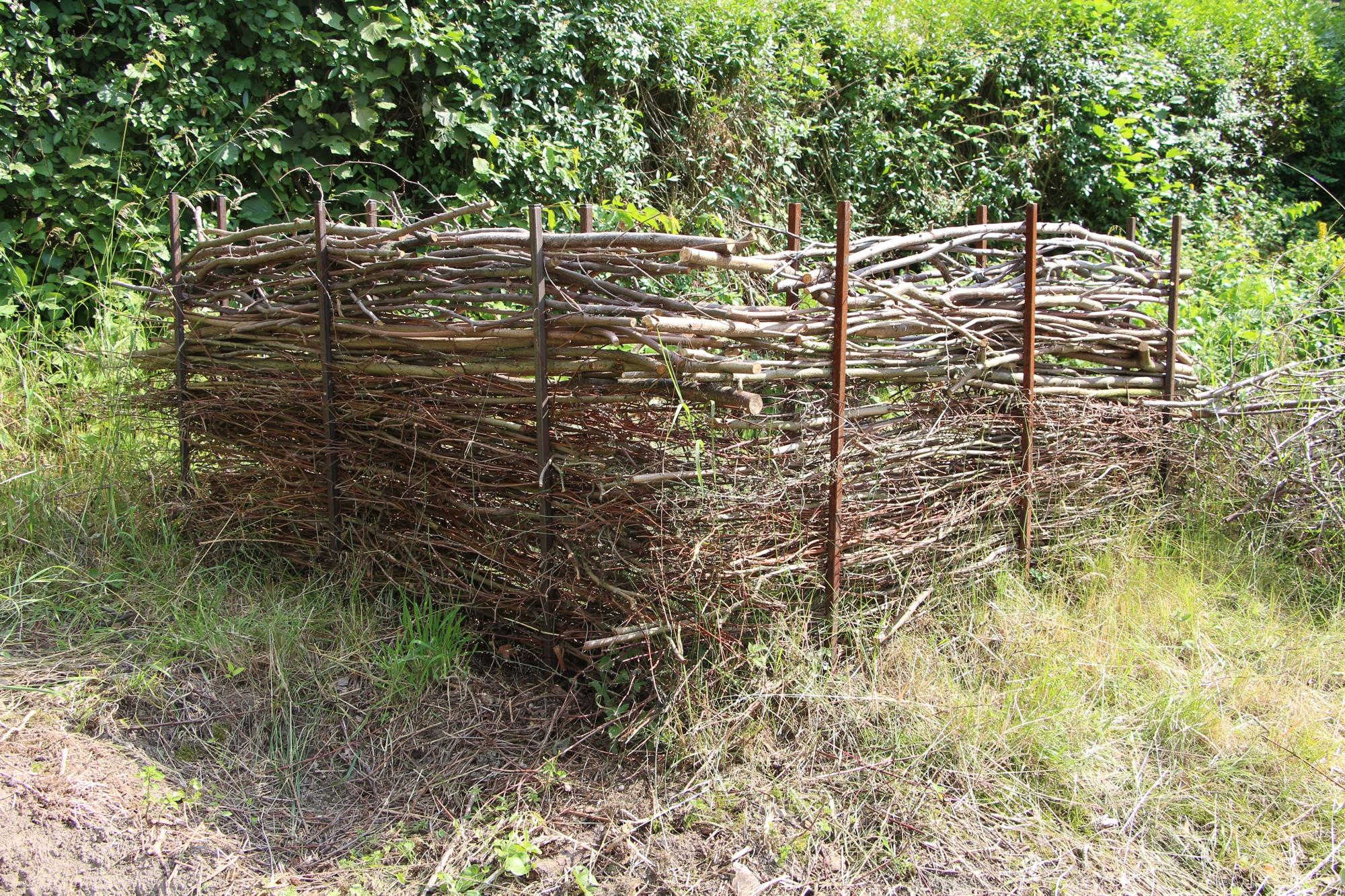 Komposter, Zaun, Windschutz,....- 1 Meter