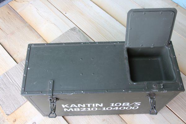 Transportkiste aus Armeebeständen