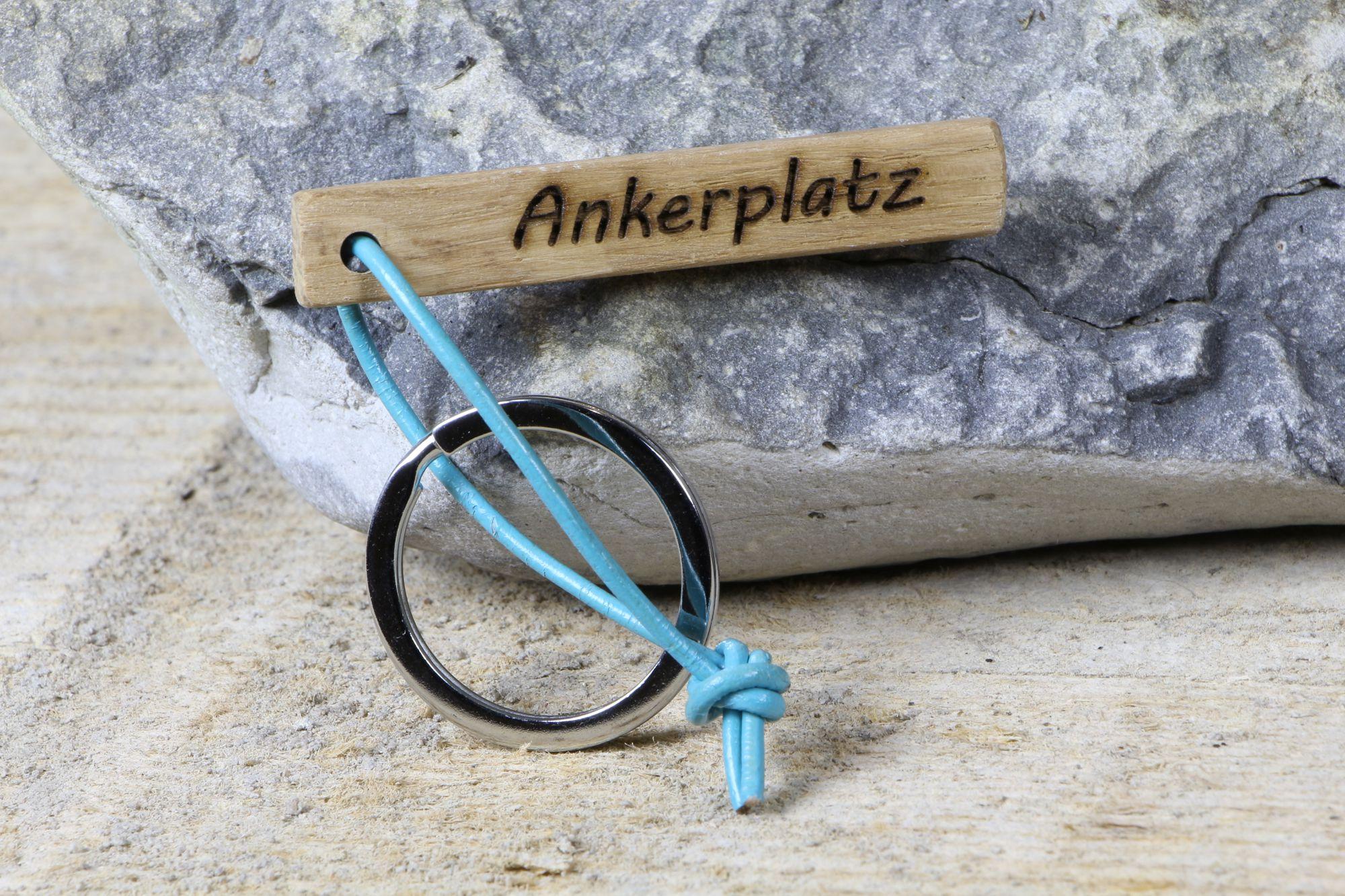 "Schlüsselanhänger ""Ankerplatz"""