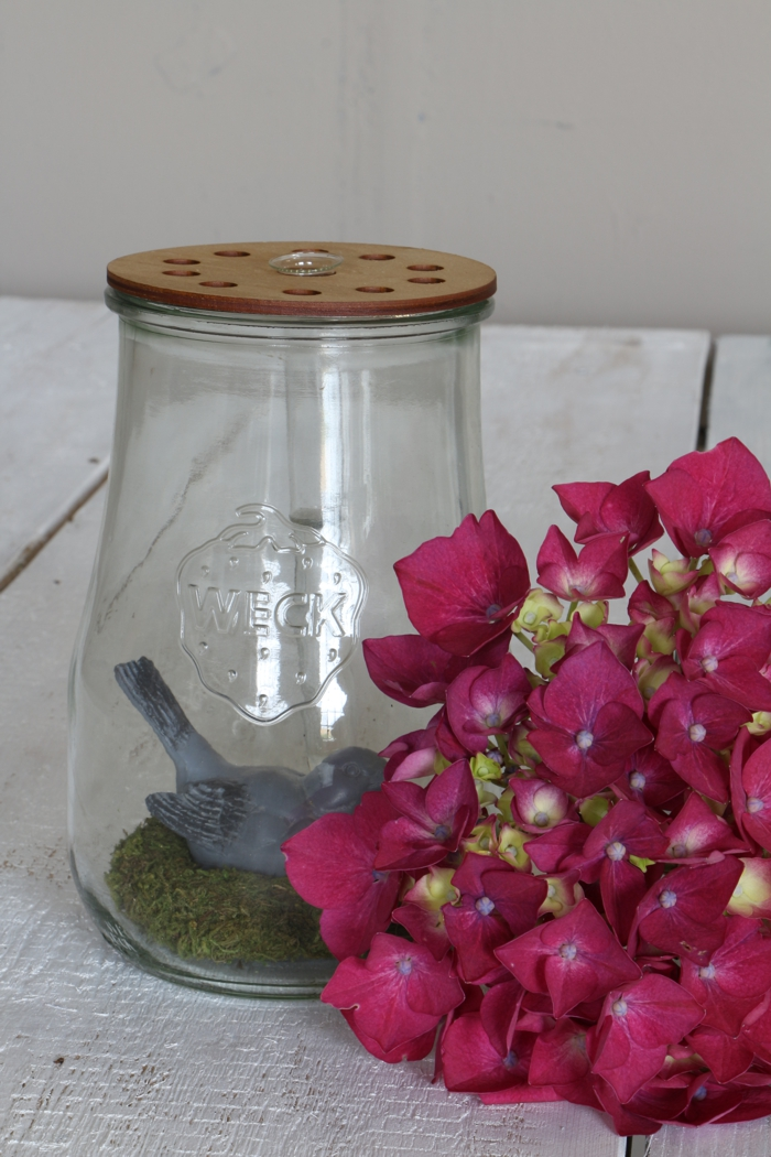"""Blütendeckel """"Reagenzglas"""""""