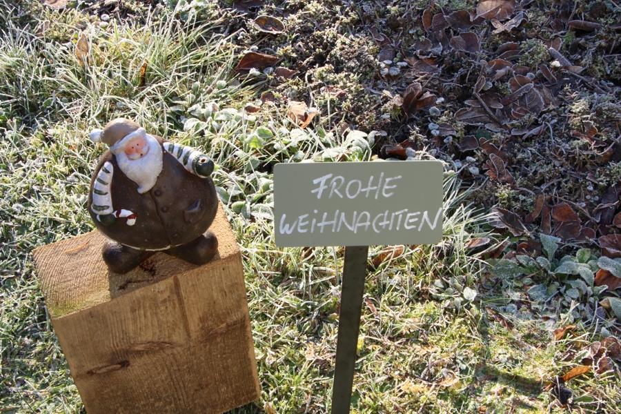 """Pflanzenschild """"Strauch, Beet und Baum"""""""